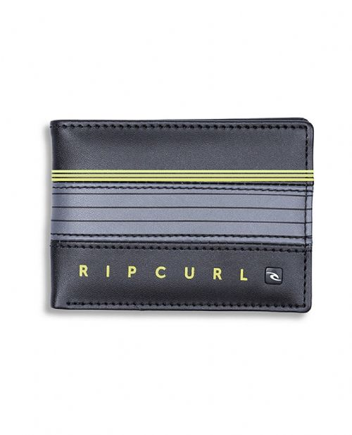 RIP CURL MENS WALLET.HOLD DOWN BLACK FAUX LEATHER MONEY NOTE COIN PURSE 8W R2 40